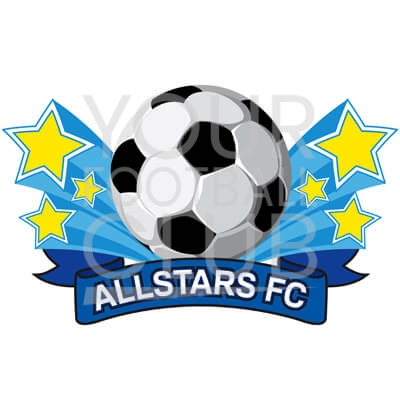 Bespoke Football Badge Design Allstars FC