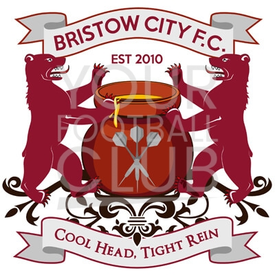 Bespoke Football Badge Design Bristow City FC