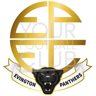 Bespoke Football Badge Design Evington Panthers