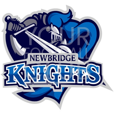 Bespoke Football Badge Design Newbridge Knights