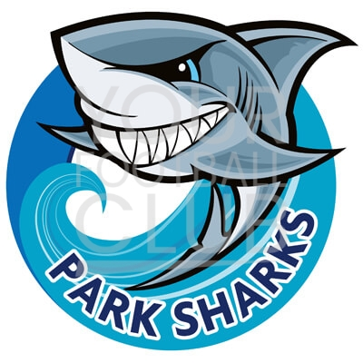 Bespoke Football Badge Design Park Sharks