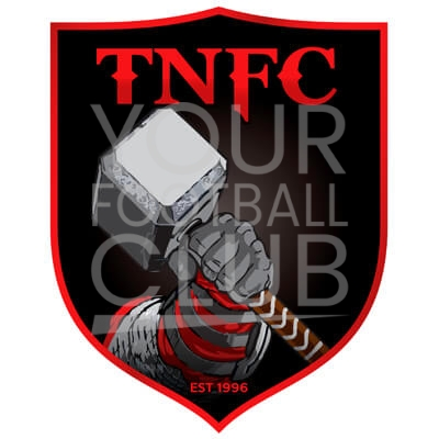 Bespoke Football Badge Design TNFC