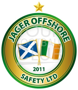 Football badge creator for Jaeger Offshore Safety FC , design a football badge for Jaeger Offshore Safety FC