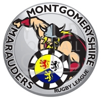 Football badge creator for Montgomerry Marauders rugby football club , design a football badge for Montgomerry Marauders rugby football club