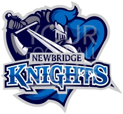 football badge creator for New Bridge knights , design a football badge for New Bridge knights