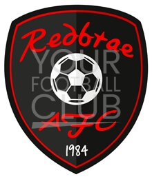 Bespoke_Football_Badge_Logo_Design_Redbrae_Badge_Black_Red_1