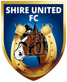 football badge creator for shire united fc