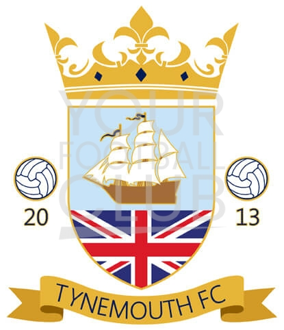 design a football badge-Bespoke_Football_Badge_Logo_Design_Tynemouth_FC_Badge