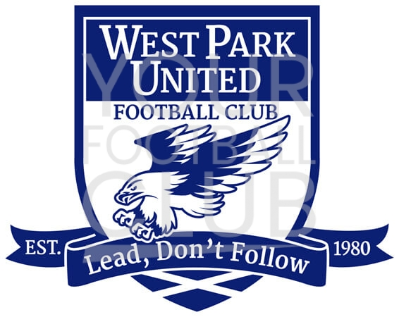 design a football badge-Bespoke_Football_Badge_Logo_Design_West_Park_United_FC_Badge_1