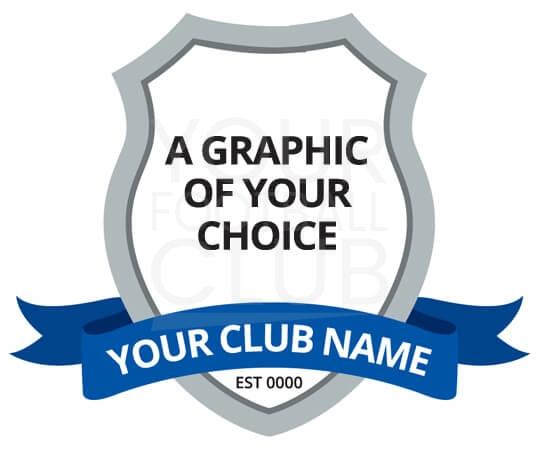 pessimistico Separato Superare di poco  Badge Design FB001C - Your Football Club