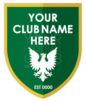 Football badge creatorFB007 Green Gold 5