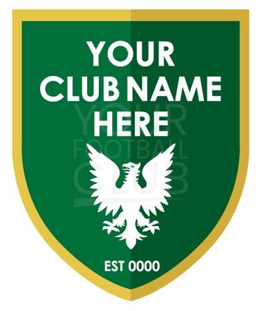 Football badge creatorFB007 Green Gold 5