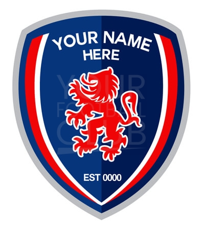 football badge creator, insert name
