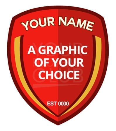 design a football badge through our instant badge designs