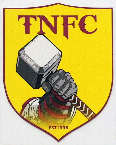 Iron on Transfer Club Badges